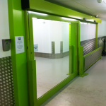 Sliding doors for commercial use are very convenient