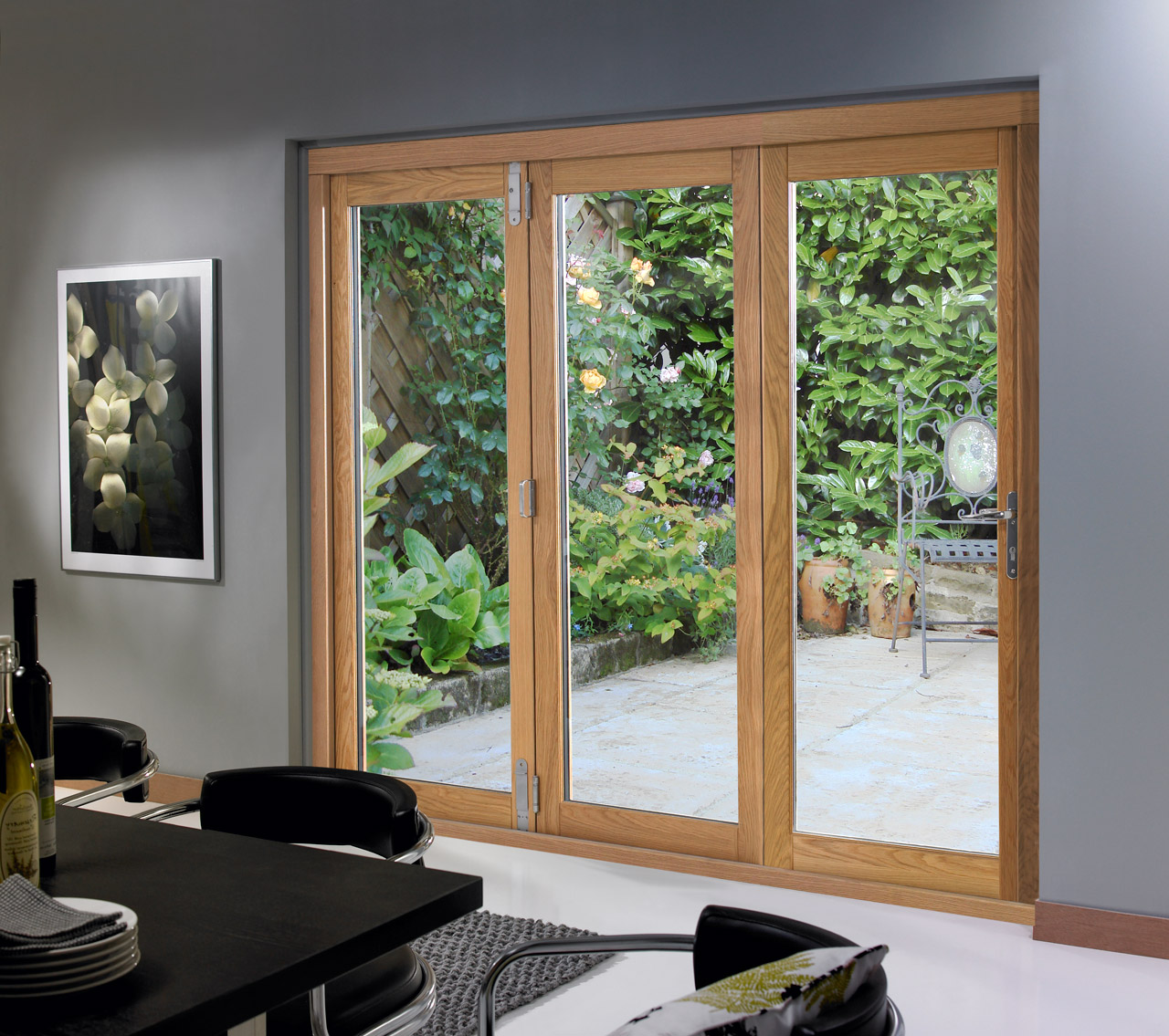 Sliding folding patio doors UK may satisfy any taste of the customer