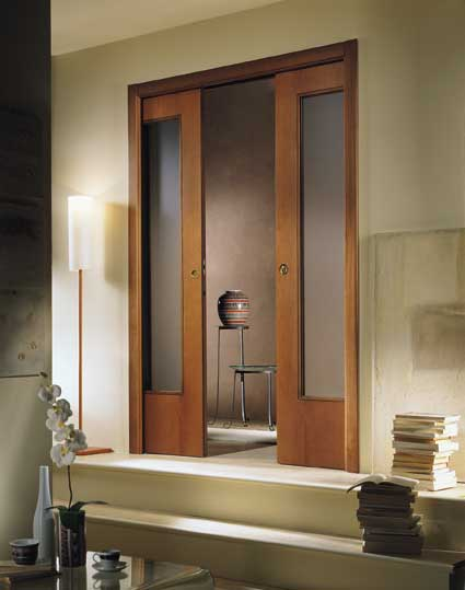 Sliding pocket doors interior are popular in the UK