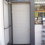 : Small interior roll up doors are very convenient and save much space