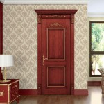 : Solid interior doors of wood are ecologically safe, long serving and beautiful