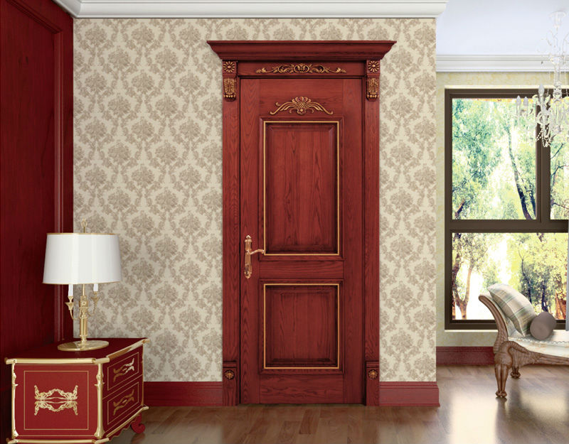 Solid interior doors of wood are ecologically safe, long serving and beautiful