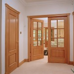 : Solid red oak interior doors belong to exquisite articles of interior