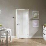 : Solid wood interior doors white make any room visually bigger and lighter