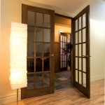 : Soundproof interior French doors possess unique and elegant style