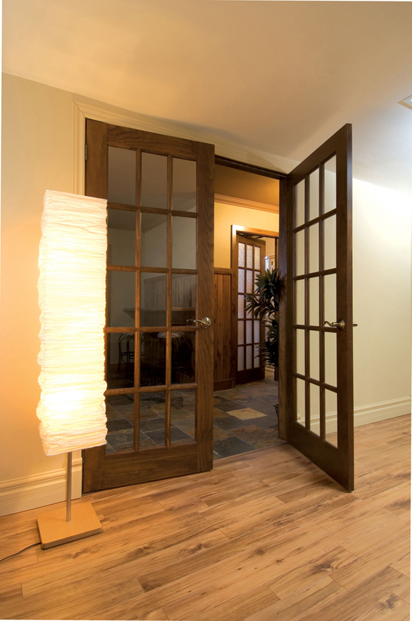 Soundproof interior French doors possess unique and elegant style