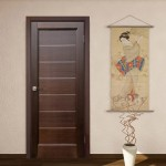 : Soundproof interior bedroom door will give you a good rest