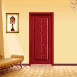 Soundproof interior wooden door is ideal for a big family
