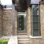 : Stainless steel entry doors for residential houses and offices