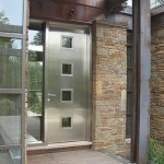 : Steel entry doors are ideal for residential houses