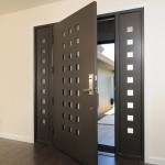: Steel entry doors with transom offer top level security
