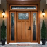 : Steel front entry doors with sidelights are durable and safe