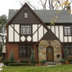 : Styles of front doors for a ranch home are similar to each other
