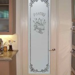 : Tempered frosted glass interior door is marvelous