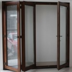 : Timber folding exterior doors  may be ordered online for less