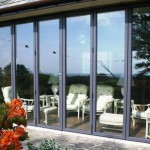 : Tri folding exterior doors design add special charm to your home