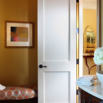 : Two panel shaker style interior doors are universal