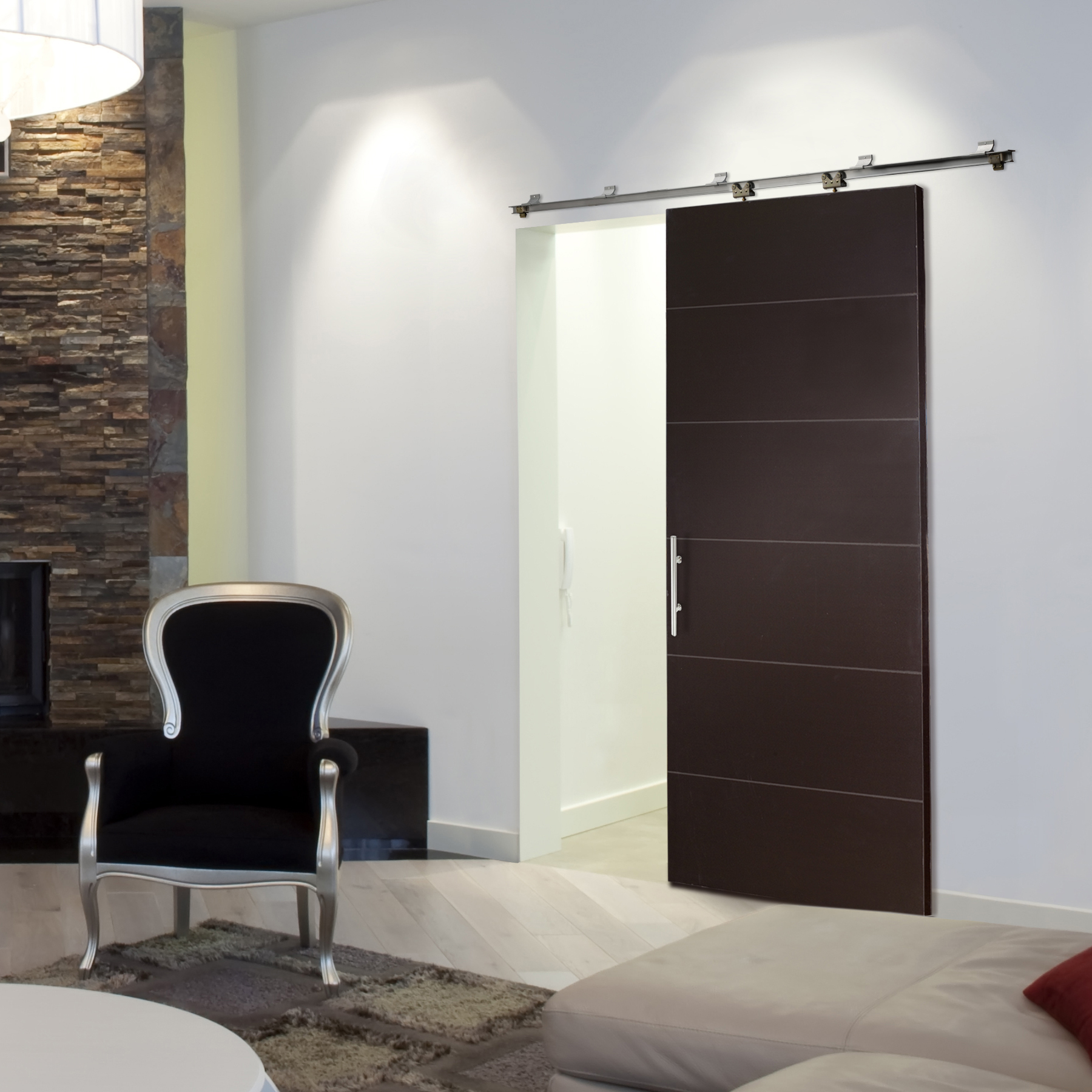 Indoor sliding doors for those who have aesthetic tastes