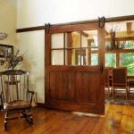 : Unique interior French doors have distinctive elegant features