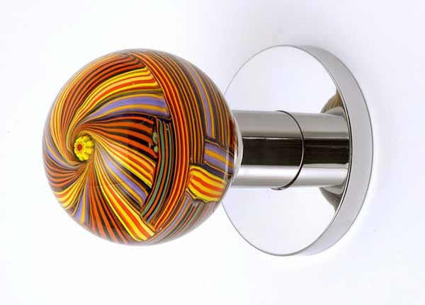 Unique interior door handles include modern ideas