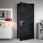 : Unique interior door ideas include the non standard shapes