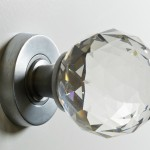 Unique interior door knobs can be presented in figurines