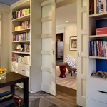 : Unique interior pocket doors will make you home beautiful