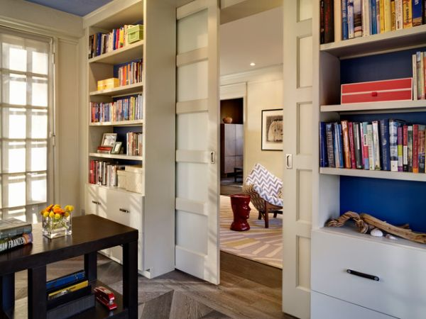 Unique interior pocket doors will make you home beautiful