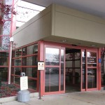 Used commercial automatic sliding doors can be bought in a sale