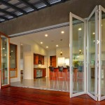 : Used exterior folding doors found online can be restored