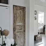 : Vintage interior wooden doors are long serving and easy to care