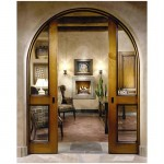 Wood arched entry doors are inconceivably beautiful design decisions