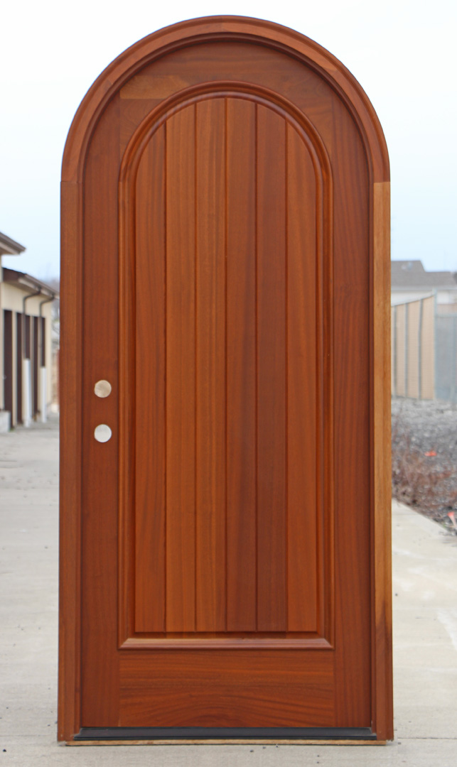 Wood arched front doors are admittedly called the bestlooking doors