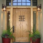 : Wood storm door panels additionall protect your household