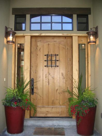 Wood storm door panels additionall protect your household