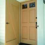 Wood storm door parts may be ordered online for less