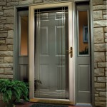 : Wood storm doors with glass will protect your house