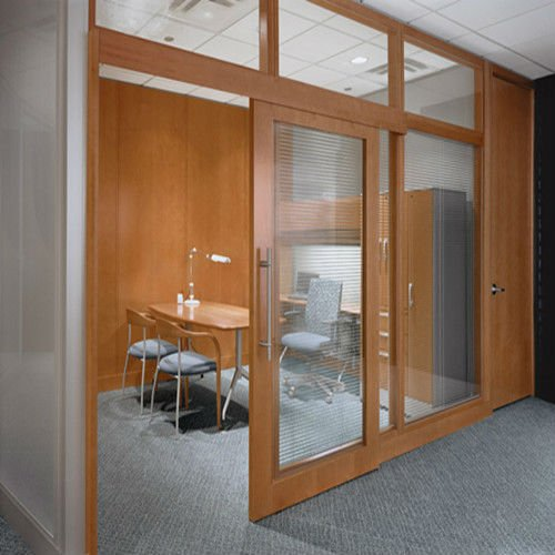 Wooden interior sliding doors are always considered to be fashionable, no matter what
