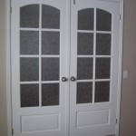 : 24 inch glass panel interior door is a slim stylish door for your living room