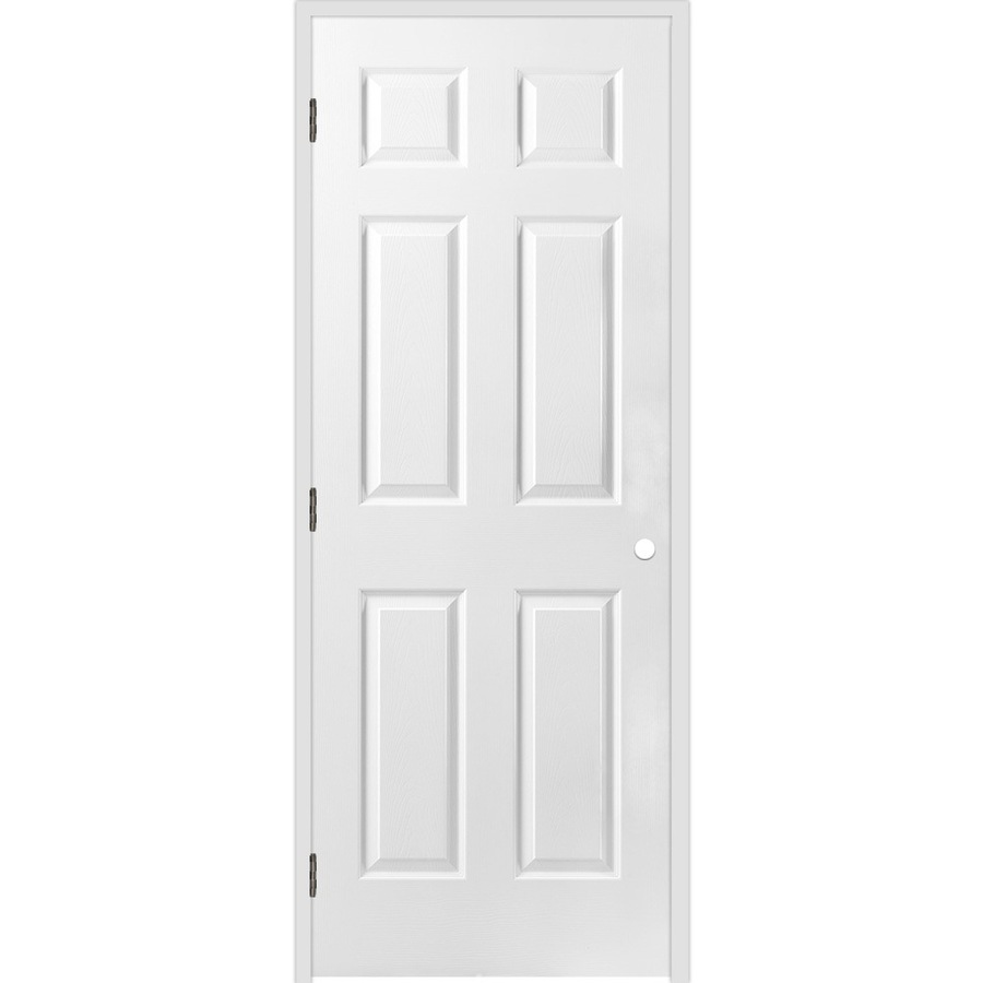 26 inch 6 panel interior door are good for interroom space or closets