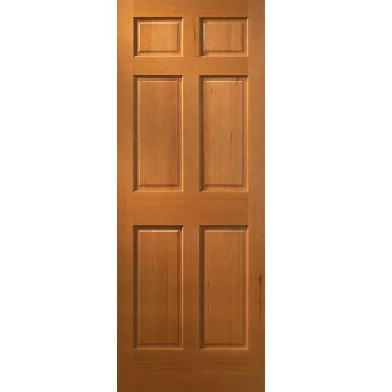 26 inch 6 panel prehung interior door can be ordered in a wide selection of configurations