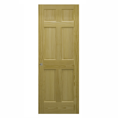 30 x 80 6 panel interior door will add some more stylish elegance to your existing home decor