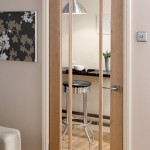 : 30 x 80 full lite interior slab door with obscure glass is built to provide privacy and allow light into the room