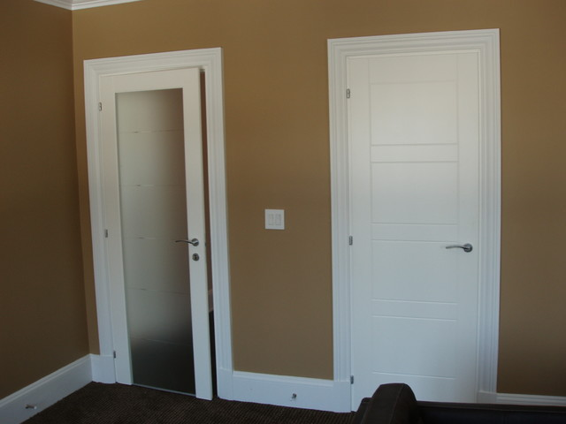 30 x 80 interior door frame can be bought separately  or sold as a set with the door unit