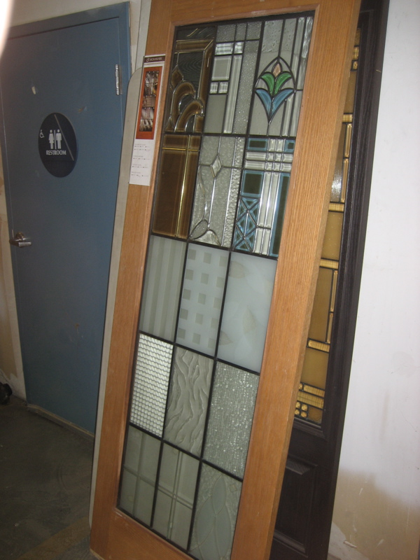 30 X 80 Interior Door Glass Is Usually Obscured For Provising The