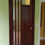 : 30 x 80 interior door with window is a good choice for a kitchen or a dining room