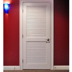 : 30 x 80 interior louvered door will add  natural beauty and wooden smooth warmth to your home