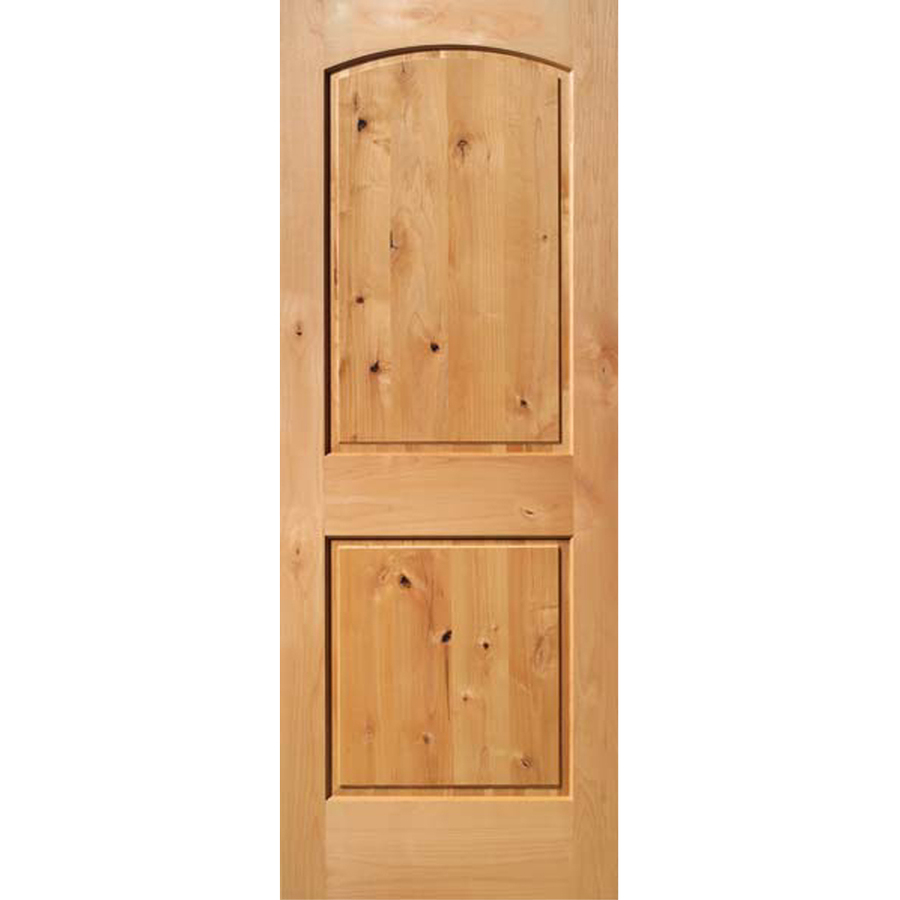 30 x 80 solid interior door made from wood resists shrinking and warping
