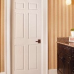 : 6 panel 8 foot interior doors look stunning and add stylish elegance to your home