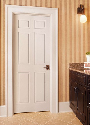 6 panel 8 foot interior doors look stunning and add stylish elegance to your home